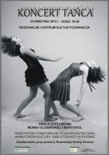 Plakat - Koncert tańca