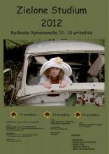 Zielone Studium 2012 - plakat